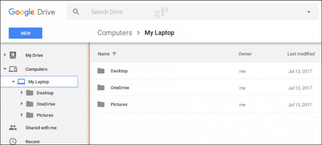 Backup and sync vs google drive