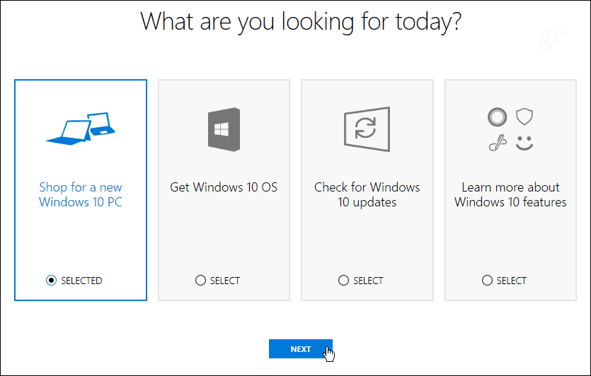 windows help choose