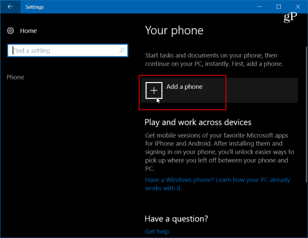 Connect Your Android Phone to Windows 10 with