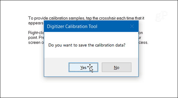 4 save calibration