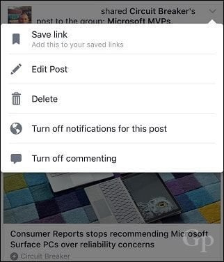 how to turn recurring notifications off