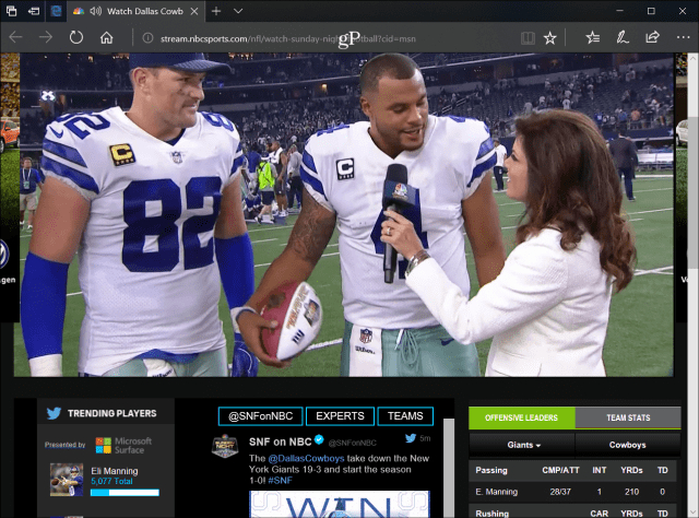 nbc-online-sunday-night-football