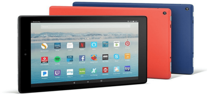 2017 Amazon Fire HD 10 Tablet