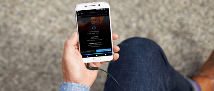 Alexa Amazon Music Mobile App