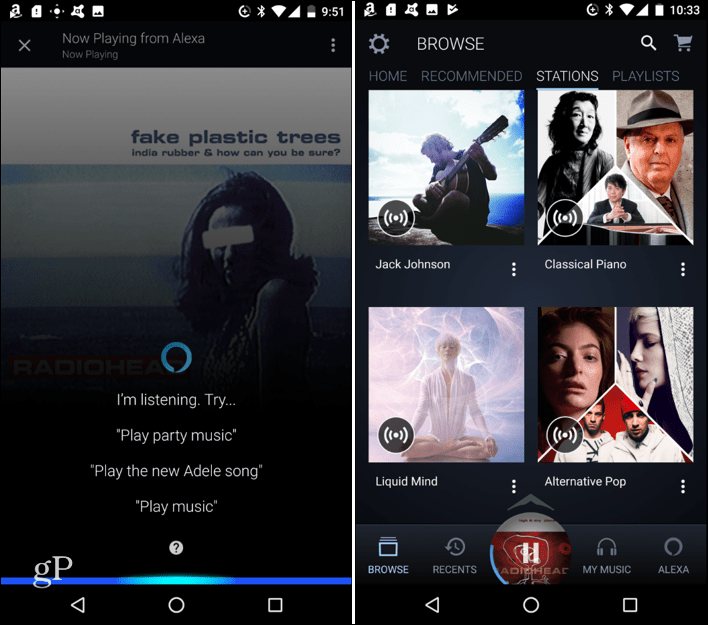 Use Alexa for Hands-free Control in Amazon Music App for