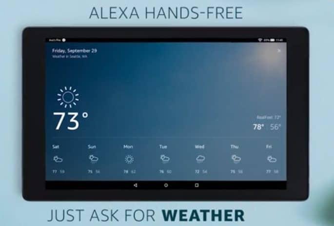alexa hands free