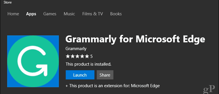 Grammarly Extension Now Available for Microsoft Edge