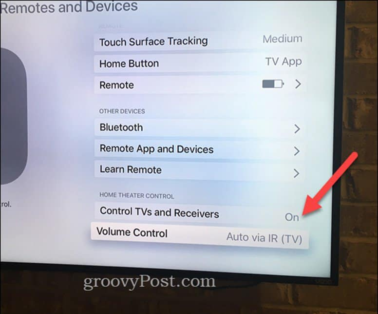 How to Control TV Volume and Power with Your Apple TV Remote