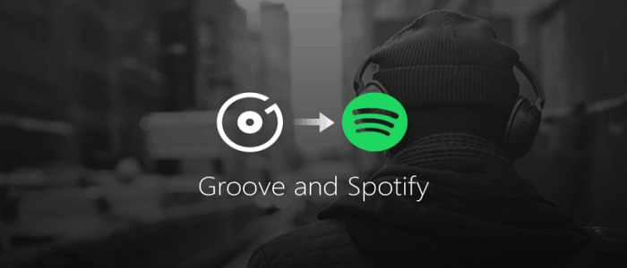 Microsoft Groove Music to Spotify