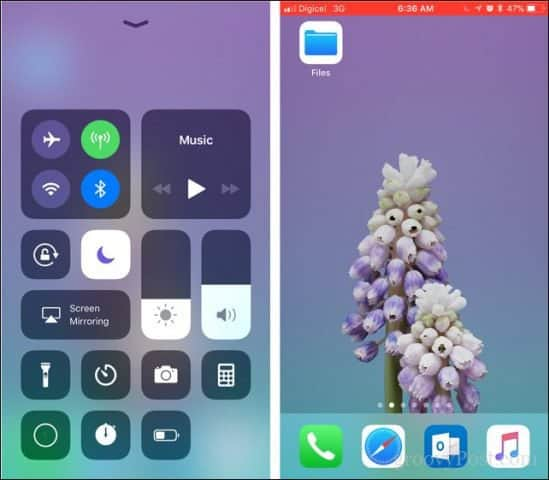 how to make screen video in iphone