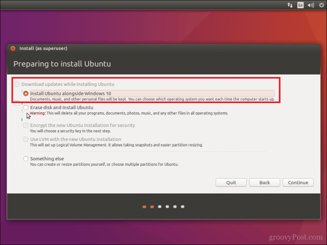 i have windows 7 and want to install ubuntu