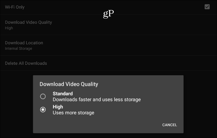 Download Video Quality Netflix