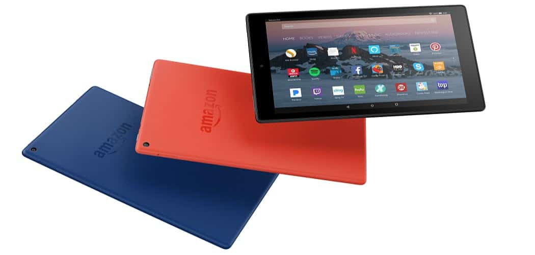 How to Set Up Email on the Amazon Fire HD 10 Tablet