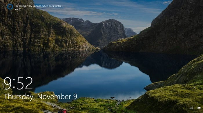 how to change picture of lock screen in windows 10