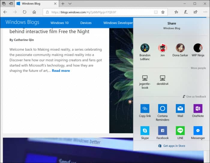 Fluent Design Windows 10 RS4