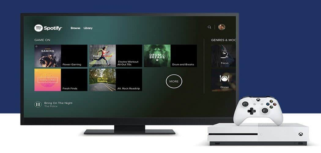 Control Spotify Music on Xbox One from Android, iOS or PC
