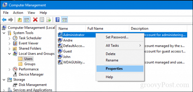 how to create new admin account windows 10