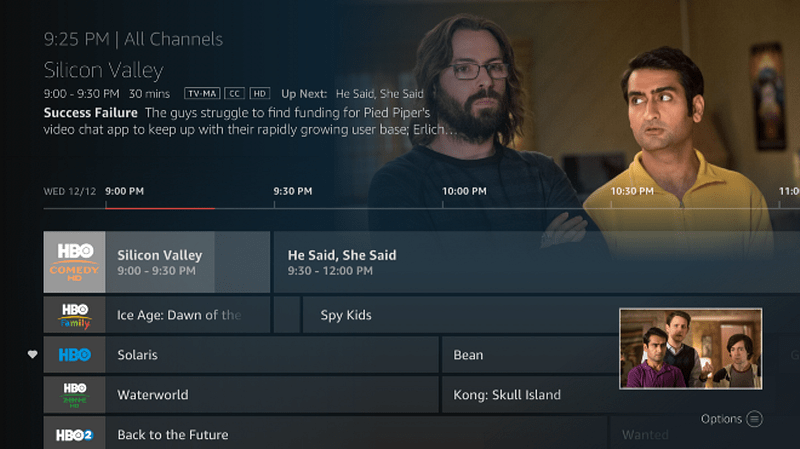 Channel Guide Fire TV