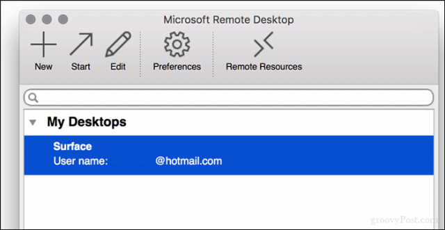 How to Use Remote Desktop in Linux or macOS to Connect to