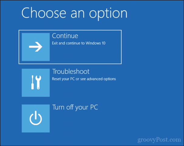 how to reinstall windows from a recovery drive