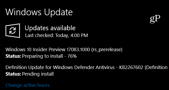 Windows 10 Preview Build 17083