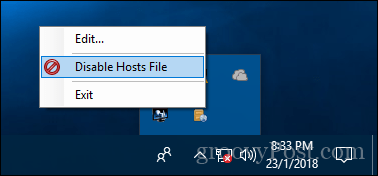 How to Edit the Hosts File in Windows 10