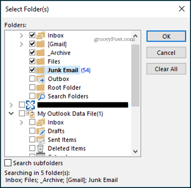 How to Search Multiple Keywords in Microsoft Outlook