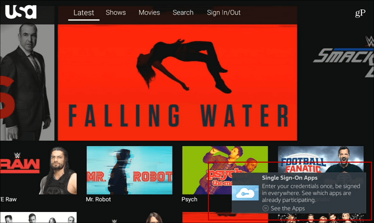 Amazon Fire TV Now Supports Single Sign-on for TV Everywhere
