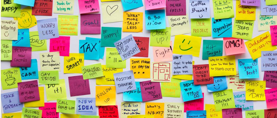 How To Back Up Restore And Migrate Sticky Notes In Windows 10