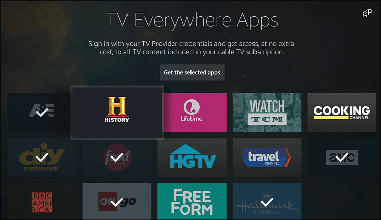 tv everywhere apps