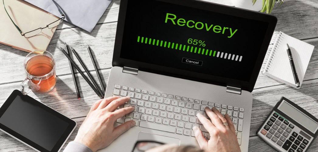 Crear un punto de restauración del sistema de Windows 10 desde un acceso directo del escritorio
