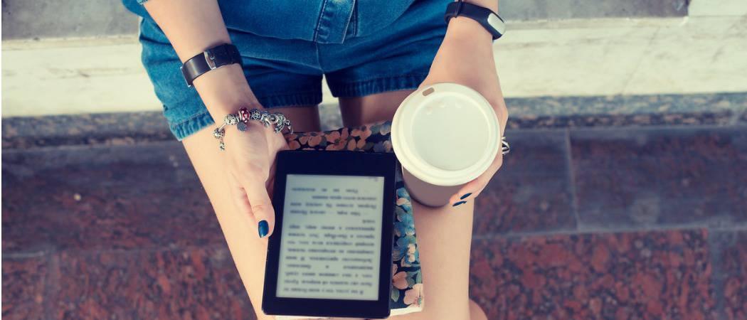 Cómo instalar fuentes personalizadas en su lector Kindle