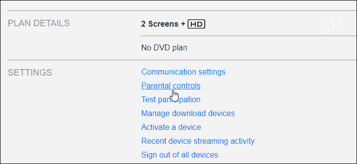 2 Netflix Parental Controls Link