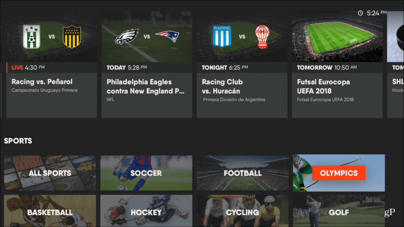 Fubo Tv Is A Live Streaming Service With A Focus On Sports