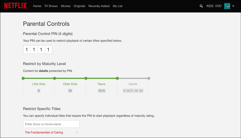 Netflix announces expanded 'PIN' parental controls alongside maturity level rating update
