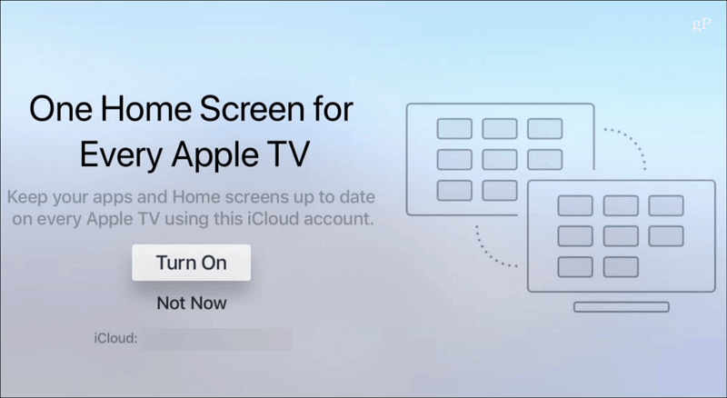 One Home Screen Every Apple TV