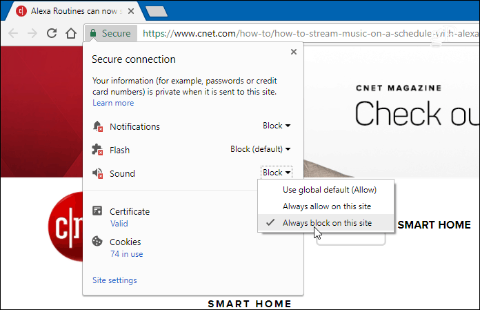 How to Disable Autoplay Videos on Sites in Google Chrome