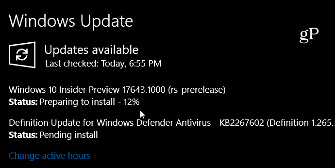 Windows Insider RS5 Build 17643 Adds Sets and Office 365 Integration