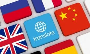 foreign language translate feature