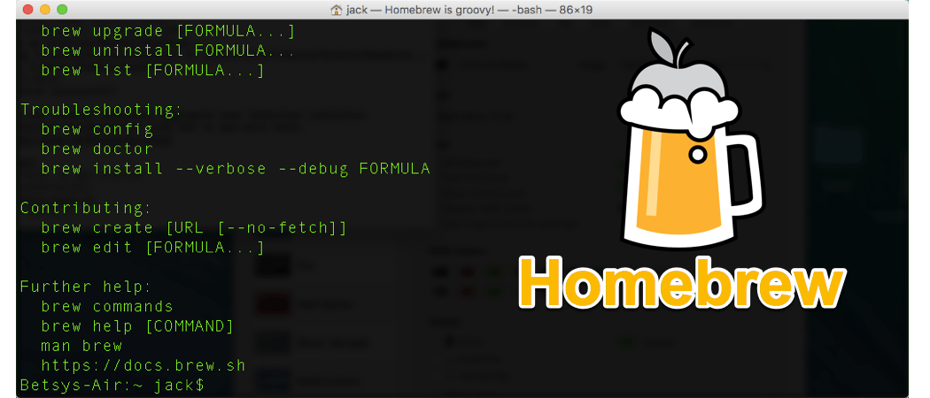 How To Install Homebrew On Your MacOS Computer