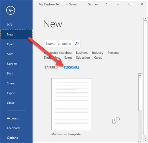 how to create templates for microsoft office programs