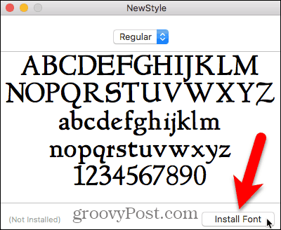 How to Install & Remove Fonts on Mac and Linux