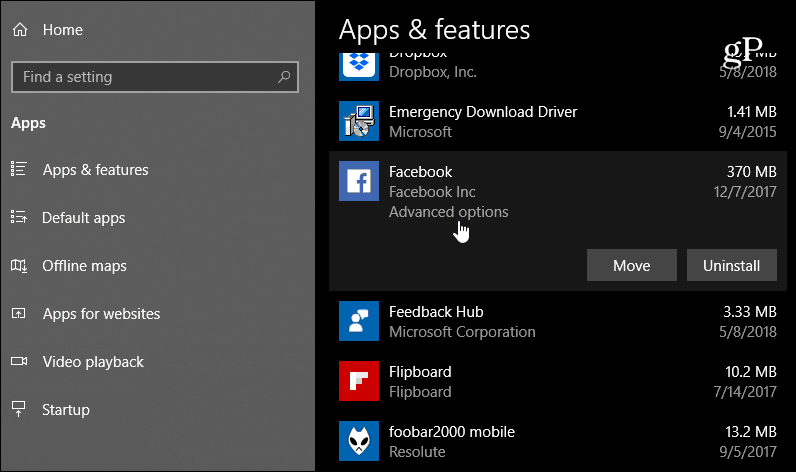 Using Improved Privacy Settings in Windows 10 1803 April Update