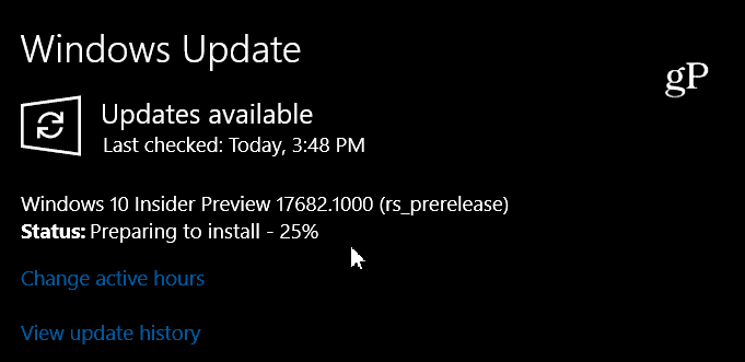 Windows 10 Insider Preview 17682