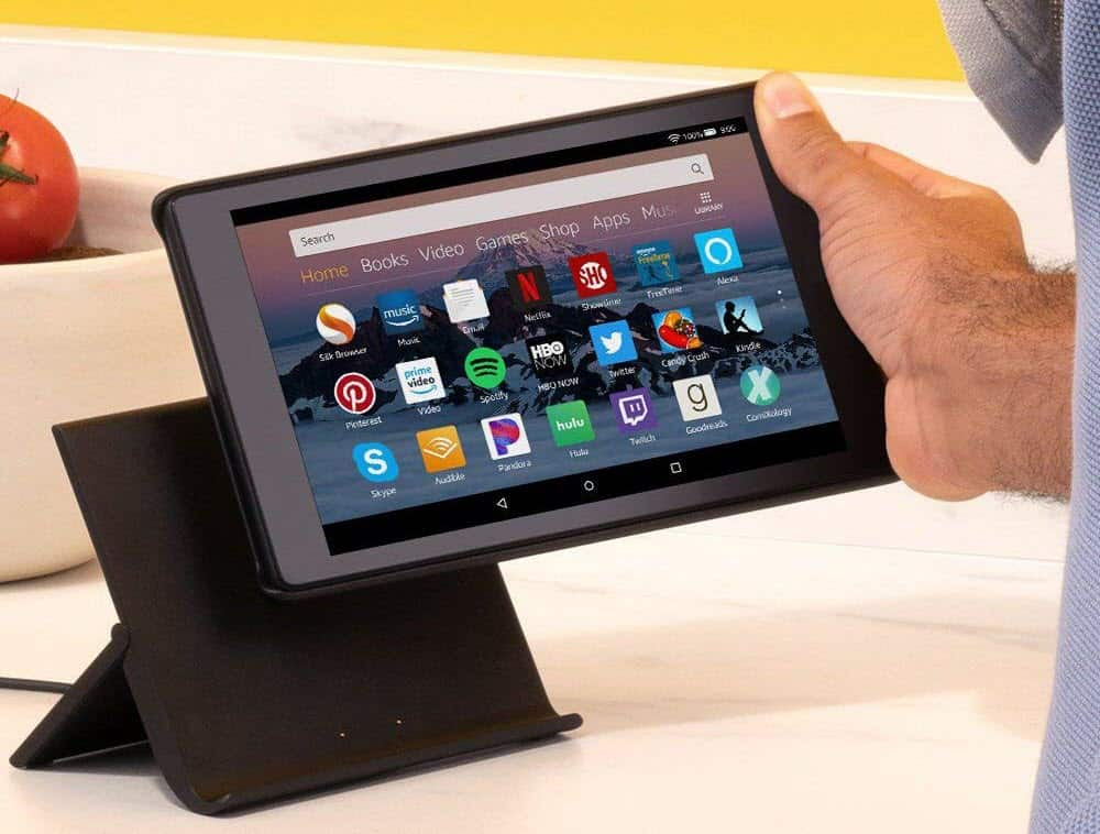 Fire HD Tablet Show Mode Charging Dock