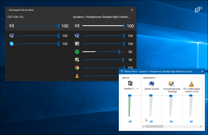 EarTrumpet for Windows 10 Makes Using Audio Controls a Snap