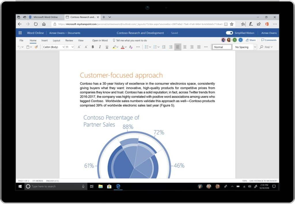 Microsoft Office update brings simplified design, better search class=