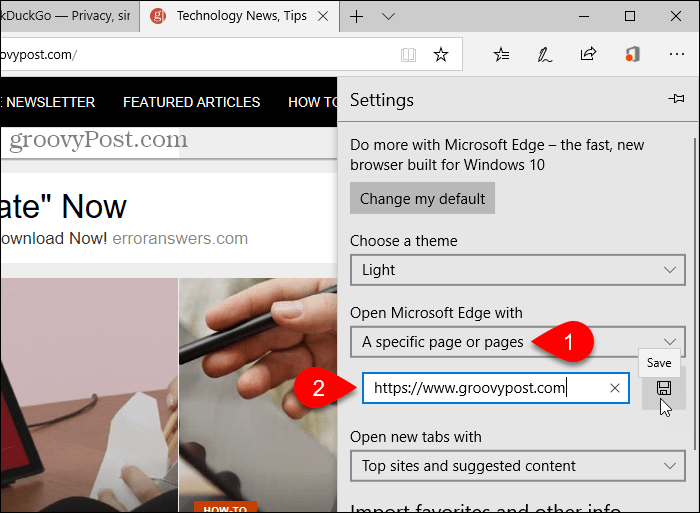 How to Open the Same Set of Web Pages Every Time You Start Your Browser