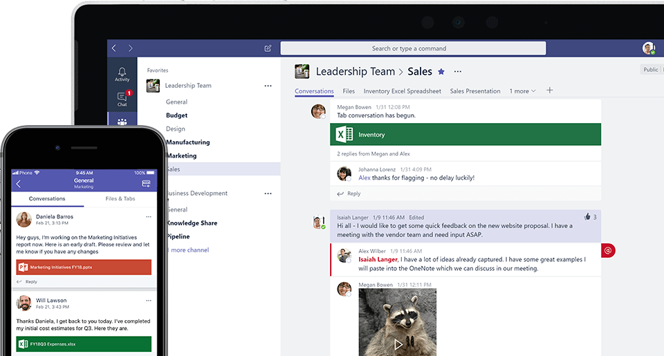 Microsoft Takes on Slack with a Free Version of Microsoft Teams