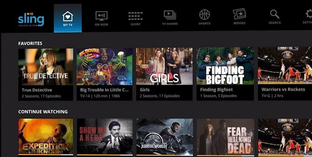 How to Watch Free Movies and TV Shows with Sling TV